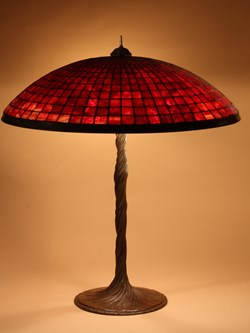 Parasol on Twisted Vine base