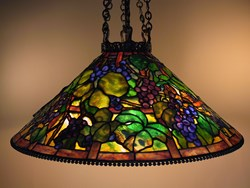 Grape shade , 6-chain fixture