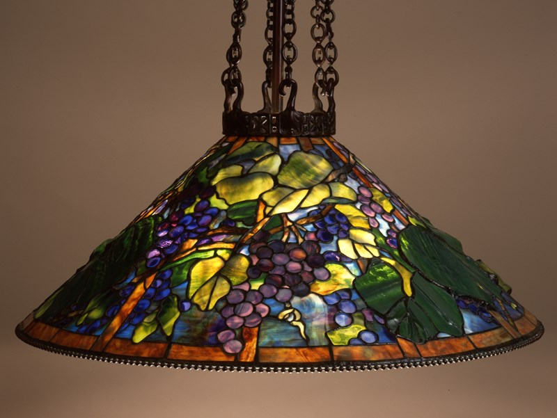 Grape shade, 6-chain fixture