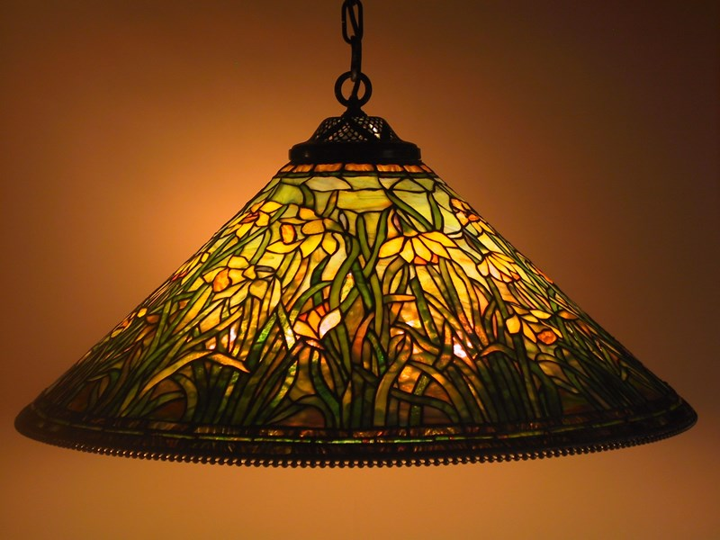 Daffodil shade , single chain fixture