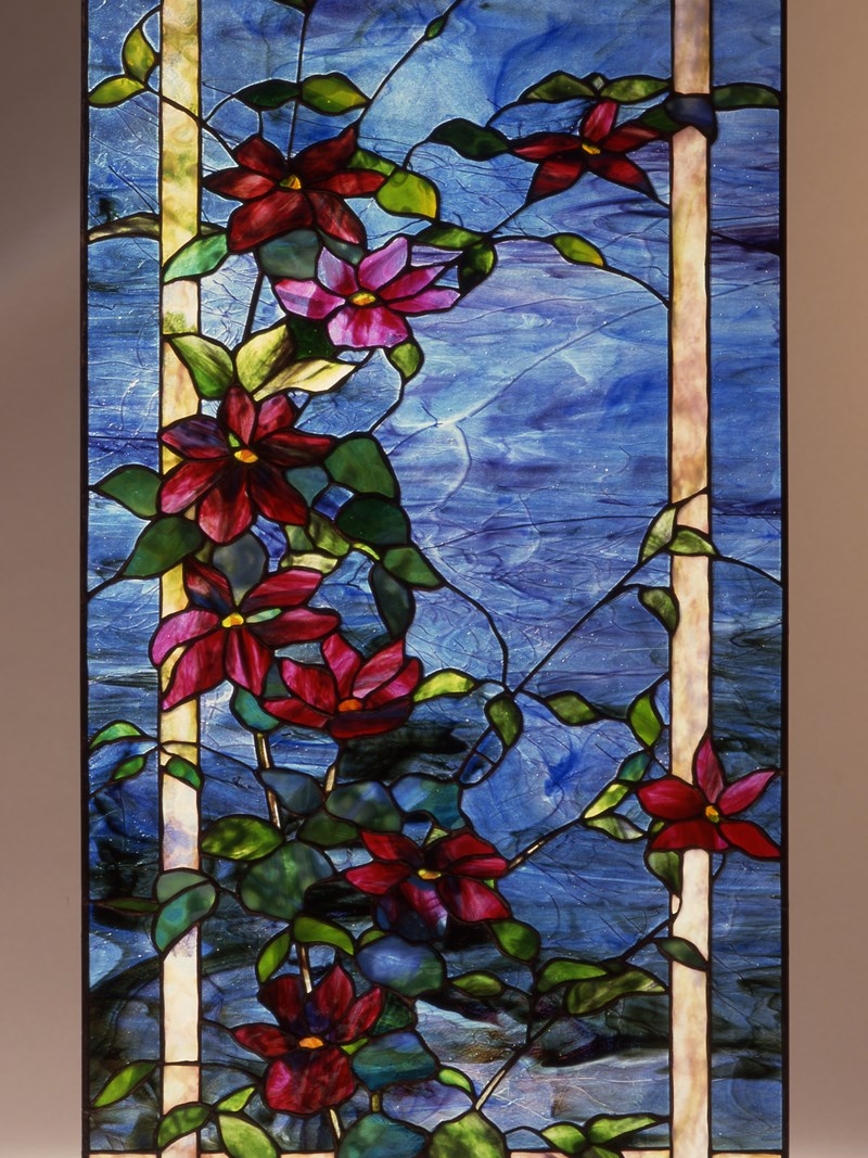 Clematis window