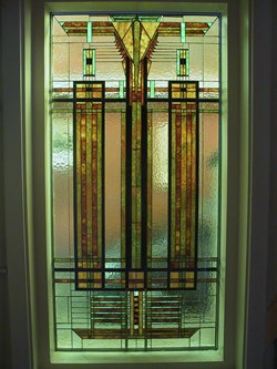 Frank Loyd Wright window