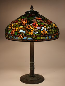 "22"" Nasturtium on Roman base"